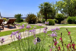 facilities lefkada villa almond garden