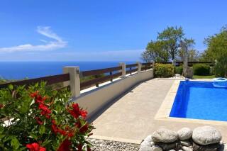 facilities lefkada villa almond sea view