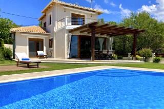 gallery lefkada villa almond big swimming pool