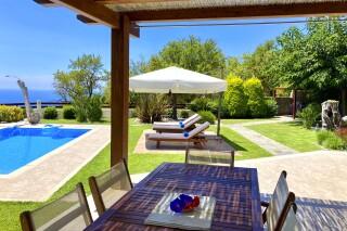 gallery lefkada villa almond exterior dining room