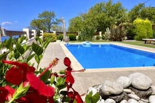 gallery lefkada villa almond garden and pool