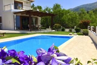 gallery lefkada villa almond swimming pool