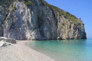 lefkada almond villa beach