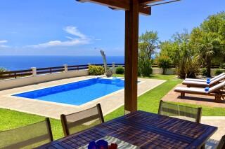 lefkada luxury villa almond in greece