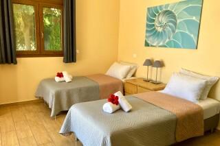 lefkada villa almond beds