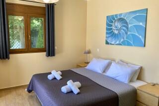 lefkada villa almond elegant bedroom
