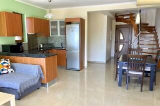 lefkada villa almond interior