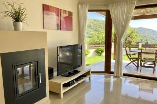 lefkada villa almond living room