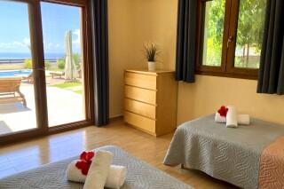 lefkada villa almond sea view room