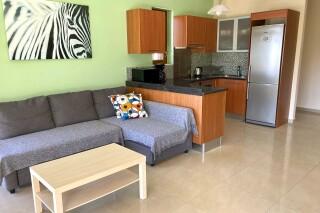 lefkada villa almond sitting room